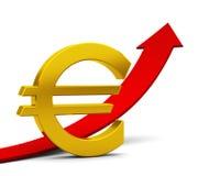 El euro Imagen de archivo libre de regalías