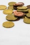 El euro acuña el marco del fondo Foto de archivo