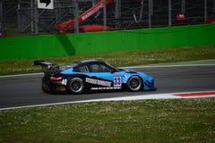 El euro GT esprinta Porsche 997 GT3 en Monza Foto de archivo