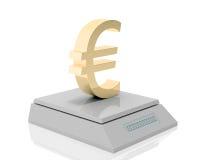 El euro pesa Fotografía de archivo libre de regalías