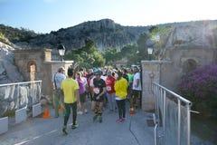 El evento del puma corre el lago - Atenas, Grecia Fotos de archivo libres de regalías