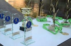 El evento del puma corre el lago - Atenas, Grecia Imágenes de archivo libres de regalías