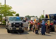 El evento del tacto-uno-camión en el christiansburg en el verano foto de archivo libre de regalías