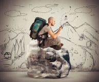 El explorador hojea la red foto de archivo libre de regalías