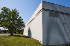 El exterior de a una de las plantas en Canadá Foto de archivo