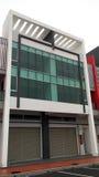 El exterior del edificio moderno colorido Foto de archivo libre de regalías