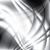 El extracto agita el fondo monocromático elegante Imagenes de archivo