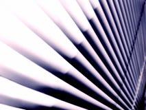 El extracto alinea persianas rígidas Foto de archivo libre de regalías