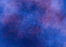 El extracto azul texturizó el fondo al punto con los puntos de la pintura fotografía de archivo