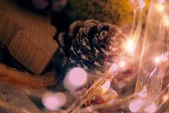 El extracto centelleó fondo de la Navidad Fotos de archivo libres de regalías