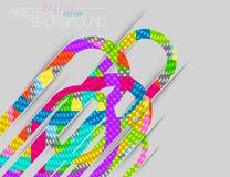 El extracto colorea vector cóncavo de la escena stock de ilustración