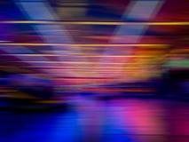 El extracto colorido alinea el fondo Líneas lisas abstractas foto de archivo