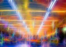 El extracto colorido alinea el fondo Líneas lisas abstractas imagen de archivo libre de regalías