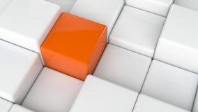 El extracto cubica el fondo Imagen de archivo libre de regalías
