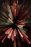 El extracto enfocó árbol de navidad Imagenes de archivo