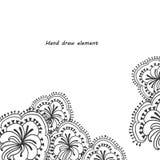 El extracto florece el fondo Imagen de archivo libre de regalías
