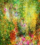 El extracto florece la pintura de la acuarela Imagenes de archivo