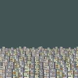 El extracto mano-ahoga el modelo industrial Fotografía de archivo libre de regalías