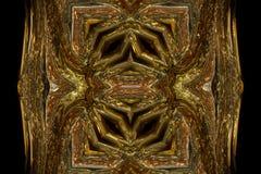 El extracto maravilloso ilustró el diseño de cristal Imagenes de archivo