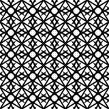 El extracto modela blanco y negro Foto de archivo libre de regalías