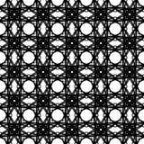 El extracto modela blanco y negro Fotos de archivo