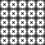El extracto modela blanco y negro Imagenes de archivo