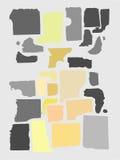 El extracto modela el fondo Fotos de archivo