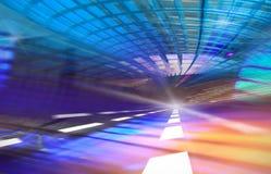 Movimiento borroso extracto de la velocidad Fotografía de archivo libre de regalías