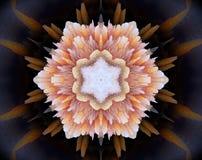 El extracto sacó ejemplo de la mandala 3D Fotografía de archivo