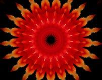 El extracto sacó ejemplo de la mandala 3D Imagen de archivo libre de regalías