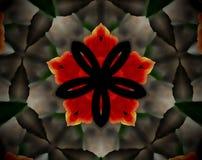 El extracto sacó ejemplo de la mandala 3D Imágenes de archivo libres de regalías
