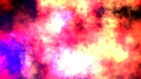 El extracto se nubla el fondo de la animación Chanel alfa incluido ilustración del vector