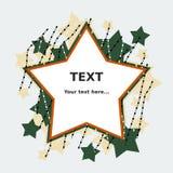 El extracto Stars el fondo libre illustration