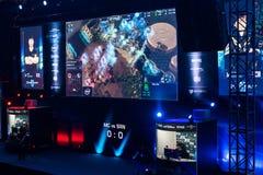 El extremo de Intel domina 2014, Katowice, Polonia Foto de archivo libre de regalías
