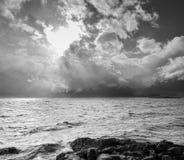 El extremo de la tormenta Imagen de archivo libre de regalías