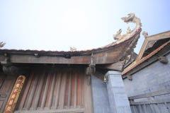 El extremo del tejado chino foto de archivo libre de regalías