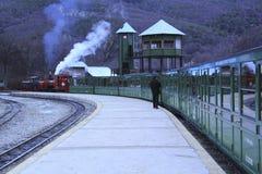 El extremo del tren del mundo Imagen de archivo libre de regalías