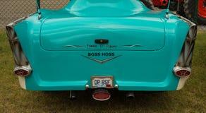 El extremo posterior de un coche del vintage imágenes de archivo libres de regalías