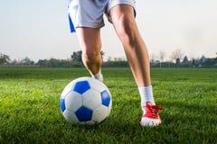 El fútbol de las mujeres Foto de archivo