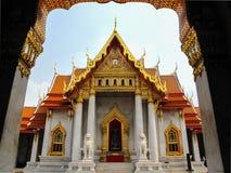 El famoso del templo para Buda, benchamabophit de Wat, Bangkok, Fotografía de archivo libre de regalías