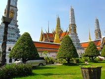 El famoso del templo para Buda, Wat Phra Kaew, Bangkok Imagen de archivo