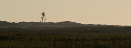 El faro Ameland wadden, isla Holanda de Baken los Países Bajos imagen de archivo