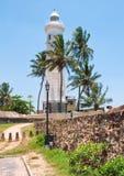 El faro de Galle en Sri Lanka Imagen de archivo libre de regalías