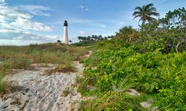 El faro de la Florida del cabo Fotos de archivo