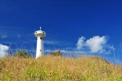 El faro en la colina Imagen de archivo