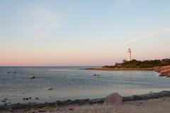 El faro Eric largo, Suecia Fotos de archivo