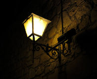El farol. In the darkness, there is always a wonderful lamp that shines your way royalty free stock images