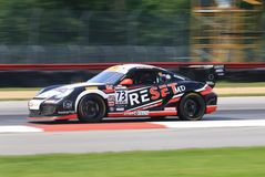 El favorable competir con del equipo de Porsche Imagenes de archivo