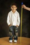 El feliz muchacho Fotos de archivo