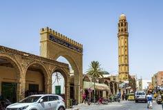 The el-Ferdous Tozeur Tunisia Mosque Stock Image